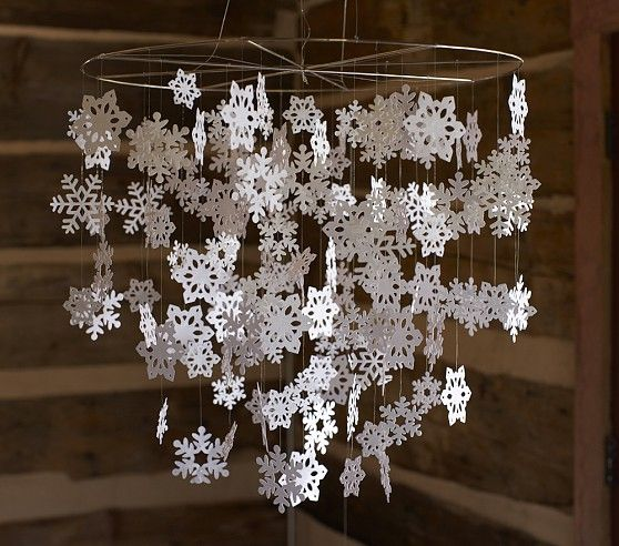 Snowflake Mobile | Pottery Barn Kids