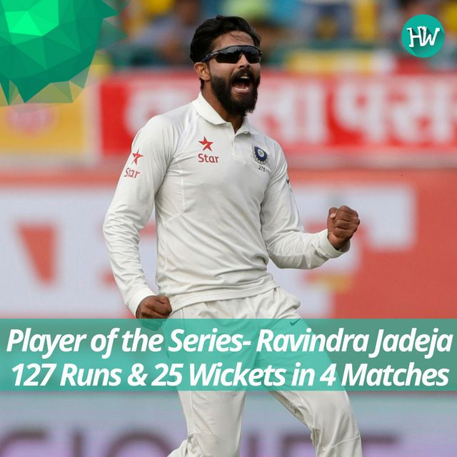 Man of the Match, Man of the Series and the No. 1 Test Bowler in the world. Ravindra Jadeja is having the time of his life! #INDvAUS #IND #AUS #cricket