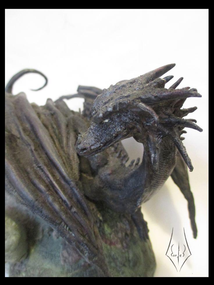 dragon  #escultura #dragon #arcilla  #gris #modelado #modeling #sculpting #reptilio #dragons #modeling #splad #prototyping #blackDragons #dungeonsAndDragons