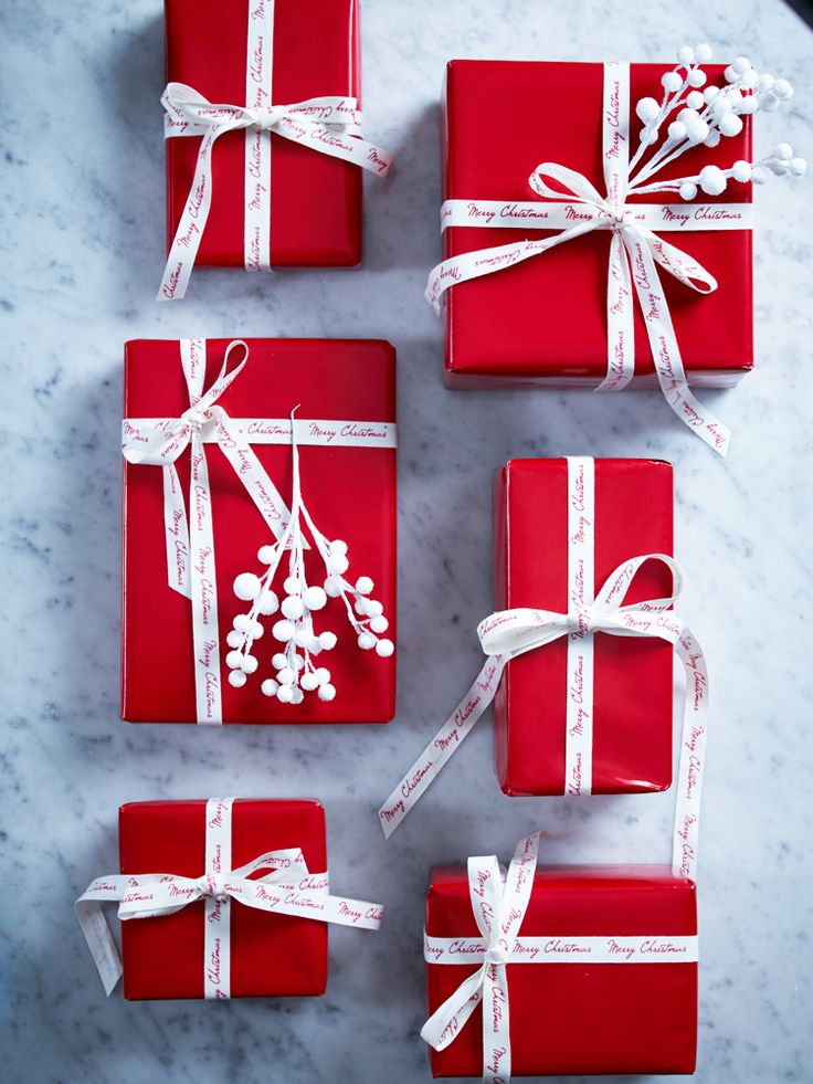 Lovely Plain Gift Wrapping Paper Part - 10: Red Wrapping Paper