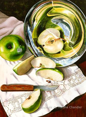 Still Lifes by Marsha Chandler - you must see her website
