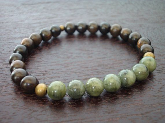 Men S Jade Mala Bracelet Protection Amp Prosperity Mala