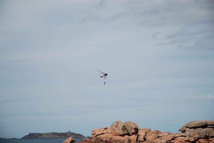 Cerf-volant dans le ciel
