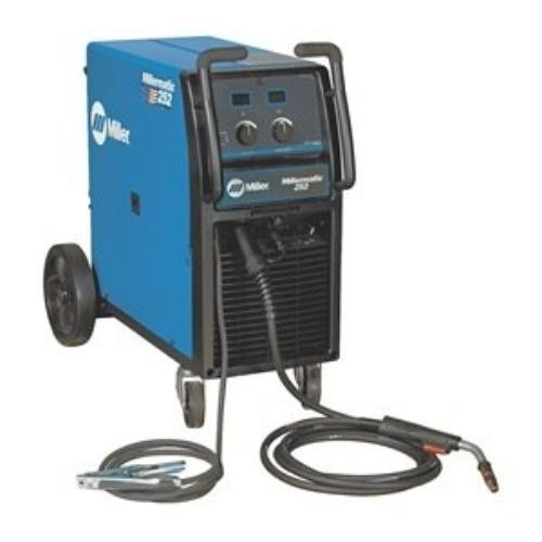 MIG Welder, Wheeled, 200 (208)/230VAC Miller Electric