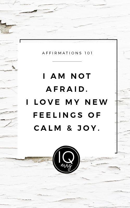 Positive Affirmations at InspirationalQuotesMagazine.com
