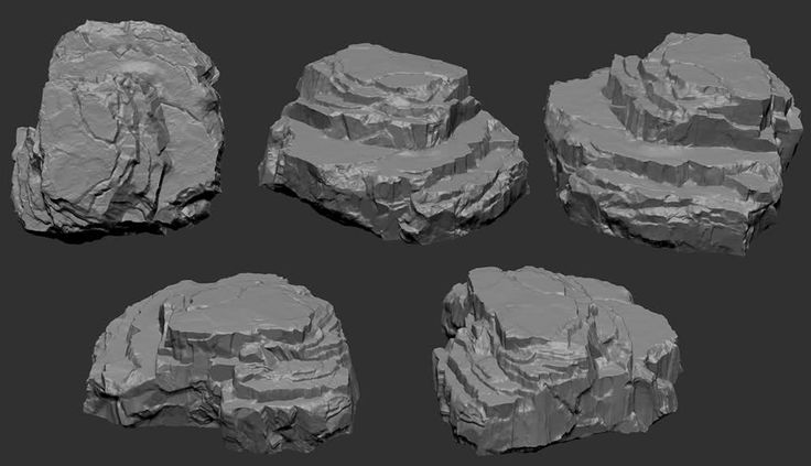 Frustrated and jealous! rock sculpting help! - Page 2 - Polycount Forum