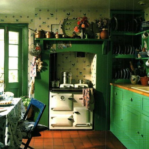 French Country Kitchen Green: 276 Best English Cottage Kitchens Images On Pinterest