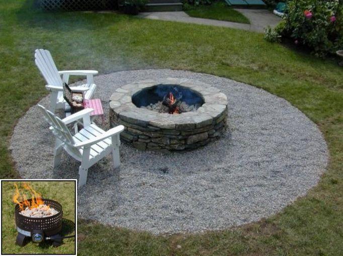 Pin On Fire Pit Area Backyard