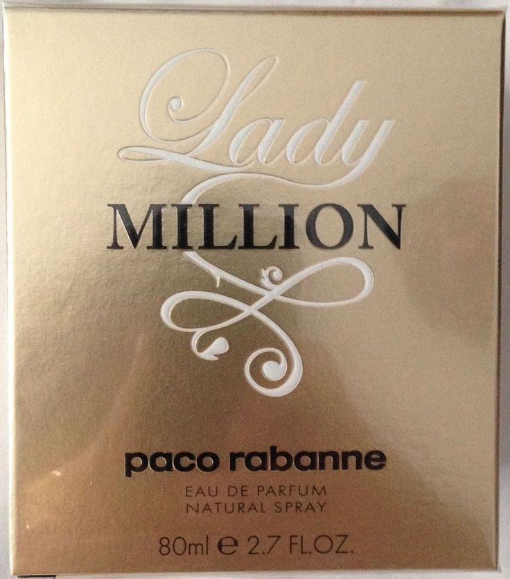 PACO RABANNE LADY MILLION 80ml Eau de Parfum Spray * NEW & SEALED
