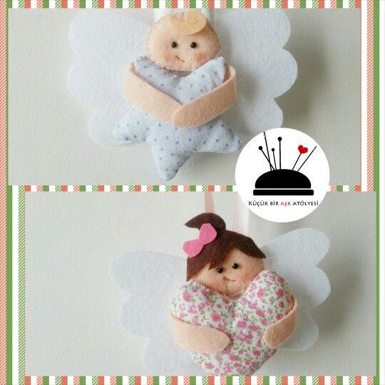 little angels - felt