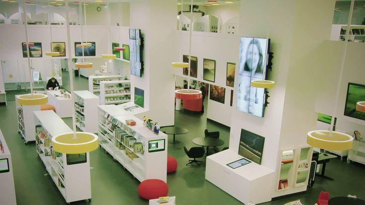 Ørestad Library on Vimeo