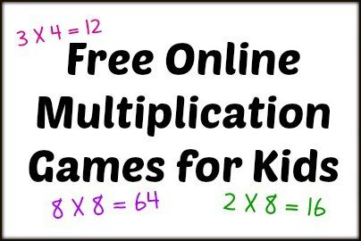 Free online games to help kids practice multiplication skills.