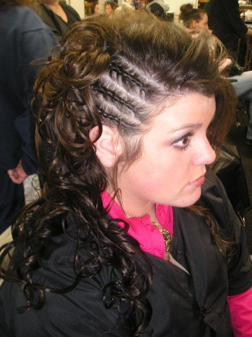 Hairstyles For 2013 Mohawks For Girls Braided Mohawk