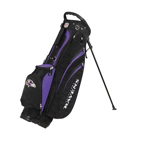 Baltimore Ravens NFL Stand Bag by Wilson. Buy now @ReadyGolf.com!
