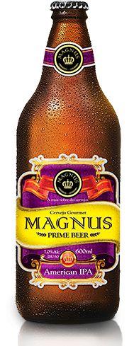 Cerveja Magnus American IPA, estilo American IPA, produzida por Magnus Prime Beer, Brasil. 7% ABV de álcool.