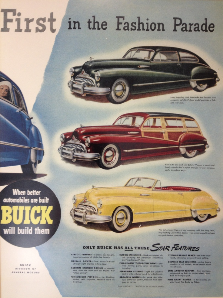 31 best Vintage Car Ads images on Pinterest | Autos, Car advertising ...