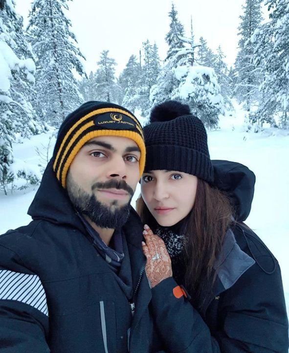 Virat Kohli & Anushka Sharma enjoying their honeymoon - http://ift.tt/1ZZ3e4d