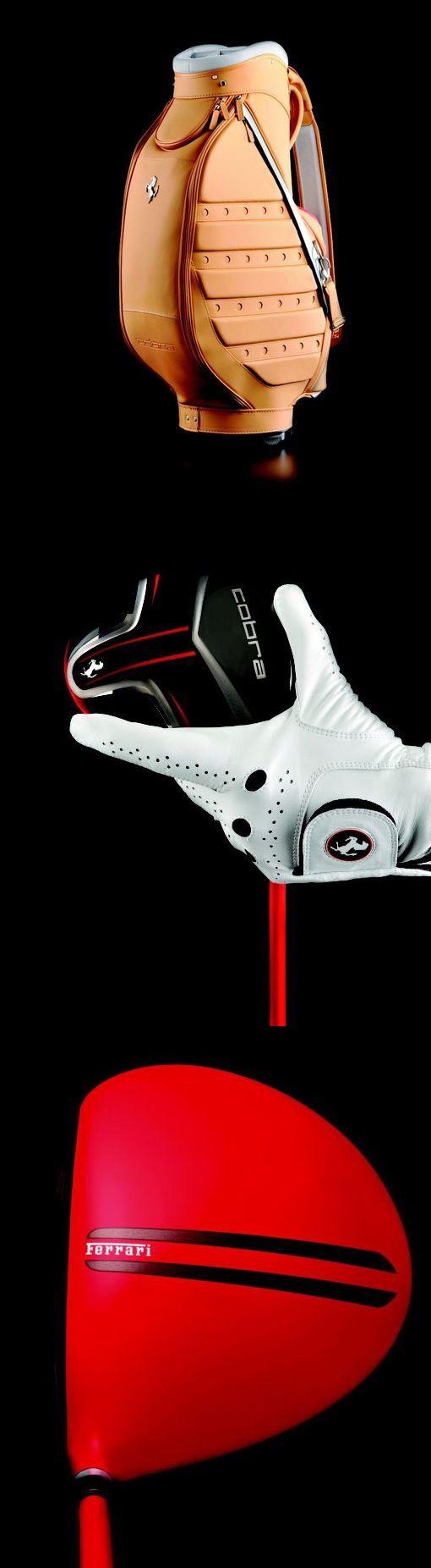 ♂ Man's fashion accessories Luxury Ferrari golf gear - Ferrari teams up with Cobra Puma Golf for special edition golf paraphernalia from http://luxurylaunches.com/fashion/ferrari_teams_up_with_cobra_puma_golf_for_special_edition_golf_paraphernalia.php