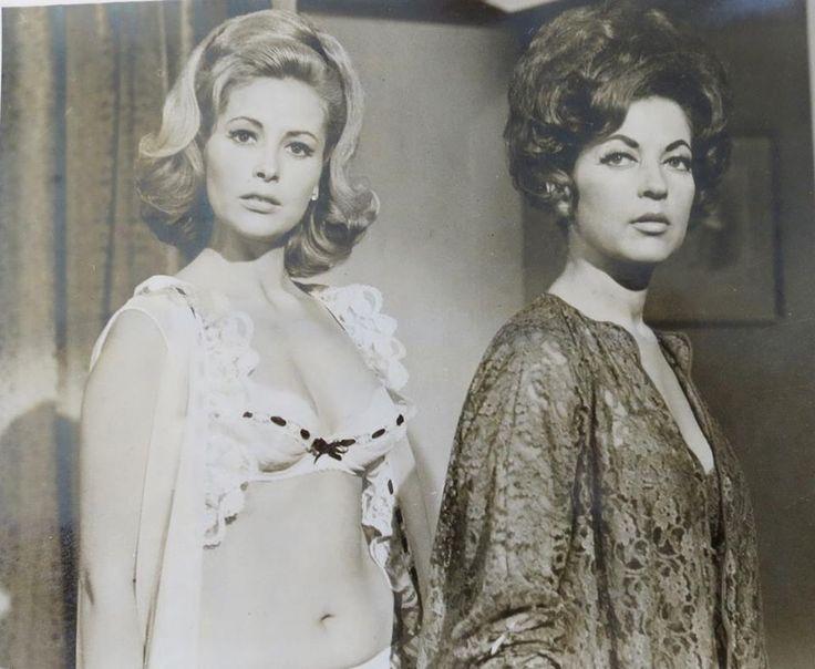 """Fanny Cano y Maricruz Olivier en """"Como pescar un marido"""".-1967"""