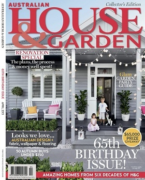 Australian House & Garden April 2013  #magsmoveme  http://homes.ninemsn.com.au/house-and-garden/