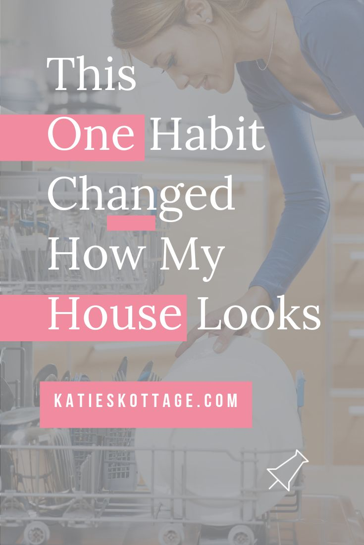 The One Habit That Changed My Housekeeping Game