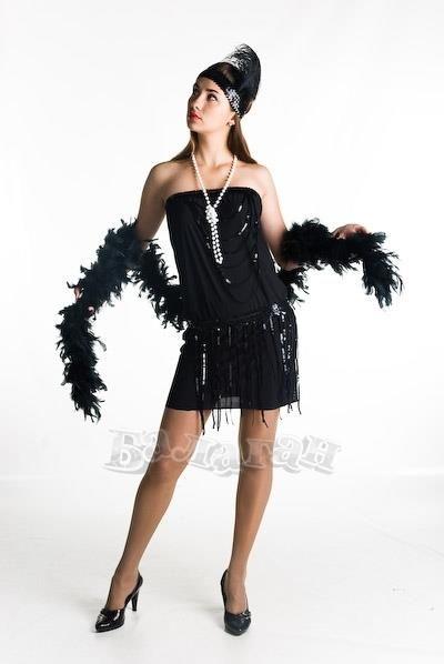 Платье в гангстерском стиле купить украина