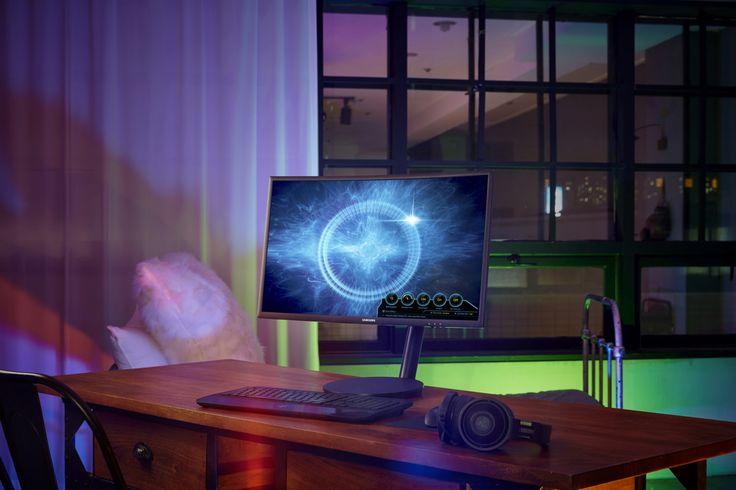 O primeiro Monitor curvo para gaming com Quantum Dot    A Samsung anunciou na Lisboa Games Week o primeiro monitor curvo para gaming com tecnologia Quantum Dot. O CFG70 conta com dois modelos um de 24 polegadas e outro de 27 polegadas. O monitor reproduz cores num esptro de 125% de sRGB um rácio de contraste de 3.000:1 sendo capaz de revelar detalhes do jogo que antes não eram visíveis. Sendo capaz ainda de produzir um tempo de resposta de imagens em movimento de 1ms minimizando assim as…