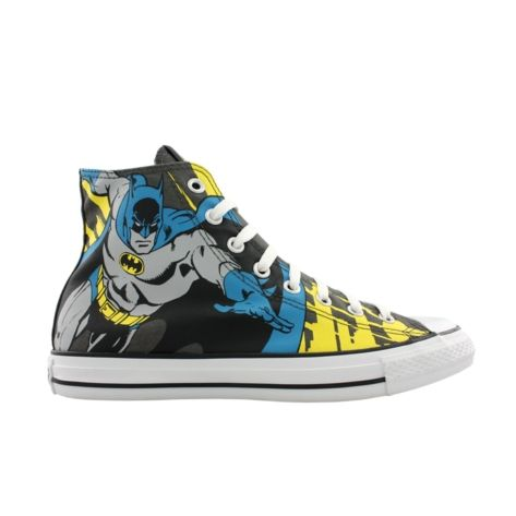 I may need to own a pair of these. Converse All Star Hi Batman Athletic Shoe - Black/Batman