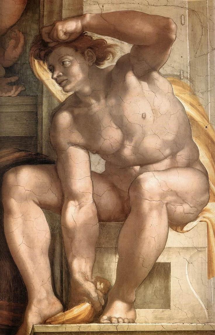 ❤ - Michelangelo - Sistine Chapel #Michelangelo #renaissance #art