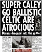 One of the best headlines of all time - from The Scottish Sun in 2000.
