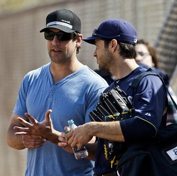 Aaron Rodgers and Ryan Braun. I love these athletes.