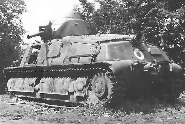 French Somua S35 - probably the best tank in service on either side during the 1940 campaign, and it performed well in the North, where the bulk of them were deployed to meet the expected main German thrust. But that thrust came through the Ardennes, in the Centre.....