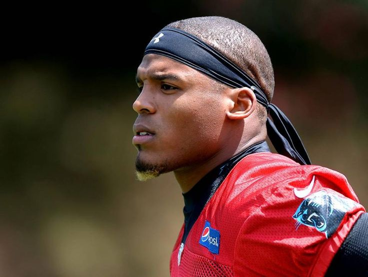 Carolina Panthers quarterback Cam Newton on Friday, July 29, 2016 at Wofford College in Spartanburg, SC.