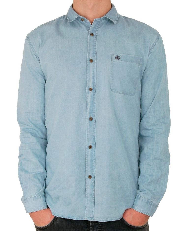 # Chemise denim clair Note http://www.letagehomme.com/chemise-denim-clair-note.html