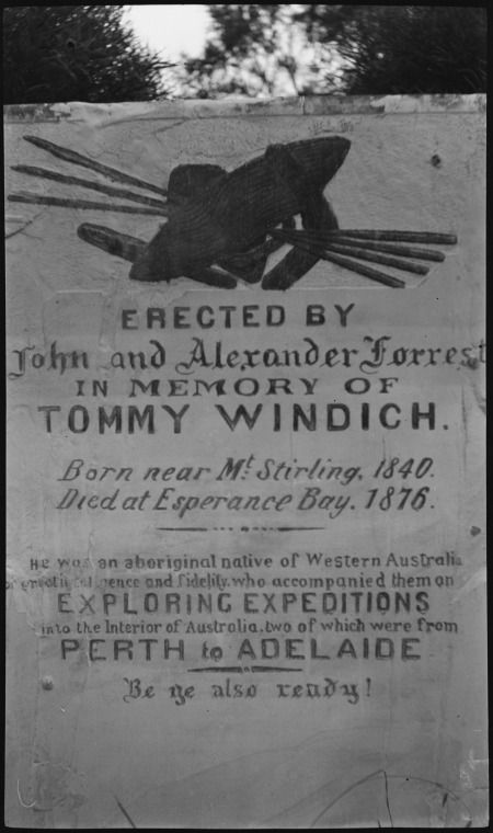 304109PD: Headstone of Tommy Windich, Esperance, 1920-1930? http://encore.slwa.wa.gov.au/iii/encore/record/C__Rb2480066__Stommy%20windich__P0%2C2__Orightresult__U__X6?lang=eng&suite=def