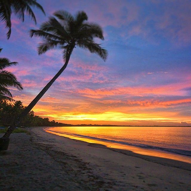 Sunrise @ Princes Harbour, Fiji