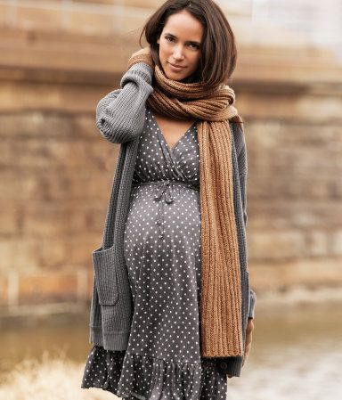 HM, moda premamá otoño-invierno, ropa de embarazada de H&M