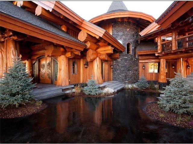 1000 id es sur le th me maison en rondins sur pinterest - Les plus belles maisons en bois ...