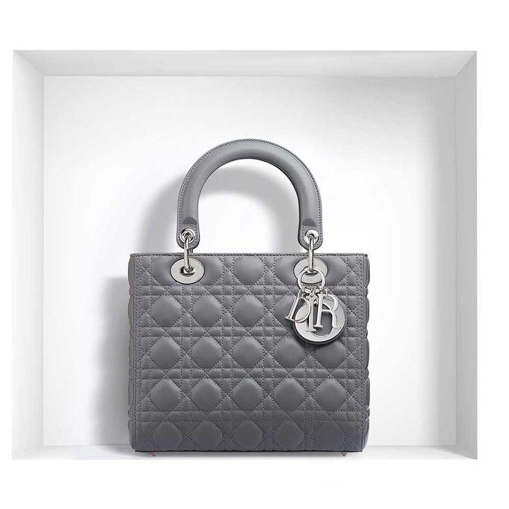 Dior - Lady Dior Çanta Gri - 10 #Dior #Dior-LadyDior #Çanta