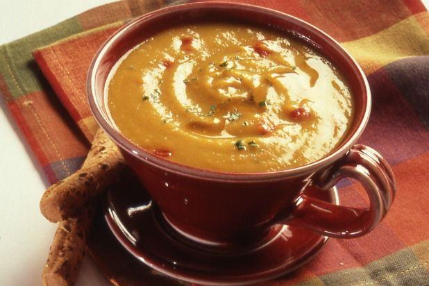 Curried Honey Sweet-Potato Soup