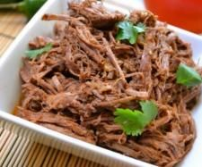 Pulled Beef - Liz made. Yum!!!