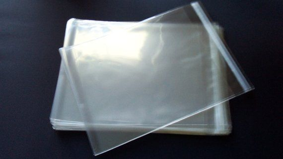 """8 1//4/""""x 10 1//8/"""" FLAT CRYSTAL CLEAR  CELLO BAGS 1.2 Mil 100 Qty"""