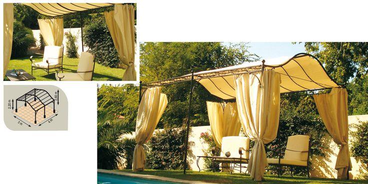 18 best tonnelle de jardin oogarden images on pinterest gardens pergolas and photoshop - Leroy merlin arbor ...