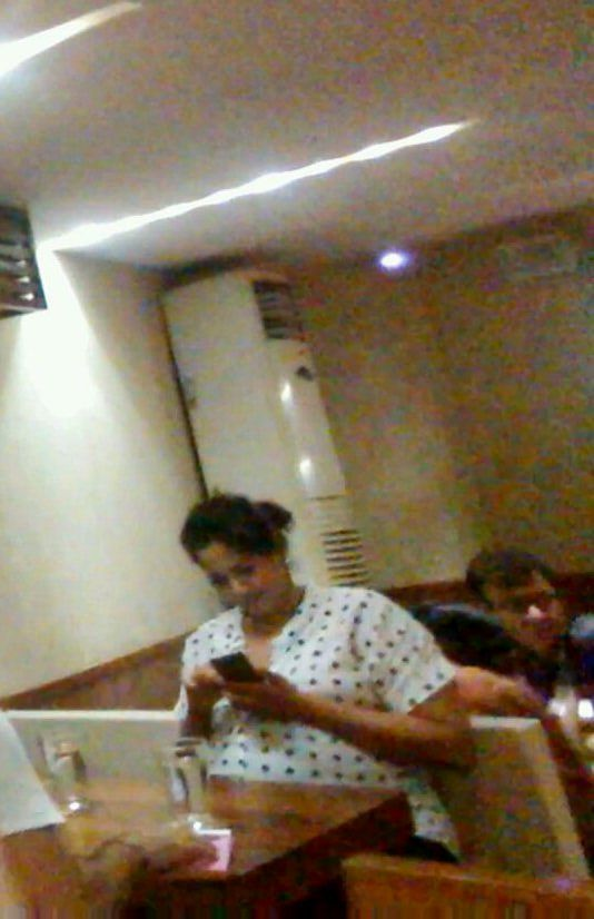 Pregnant Sameera Reddy Spotted