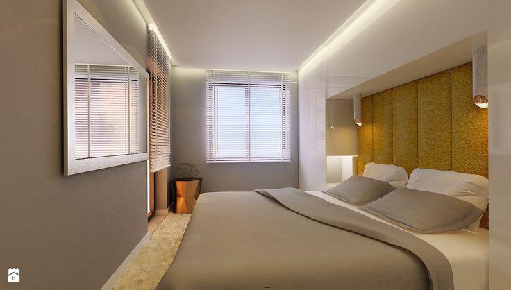 Wystrój wnętrz - Sypialnia z beżowymi ścianami - pomysły na aranżacje. Projekty, które stanowią prawdziwe inspiracje dla każdego, dla kogo liczy się dobry design, oryginalny styl i nieprzeciętne rozwiązania w nowoczesnym projektowaniu i dekorowaniu wnętrz. Obejrzyj zdjęcia!