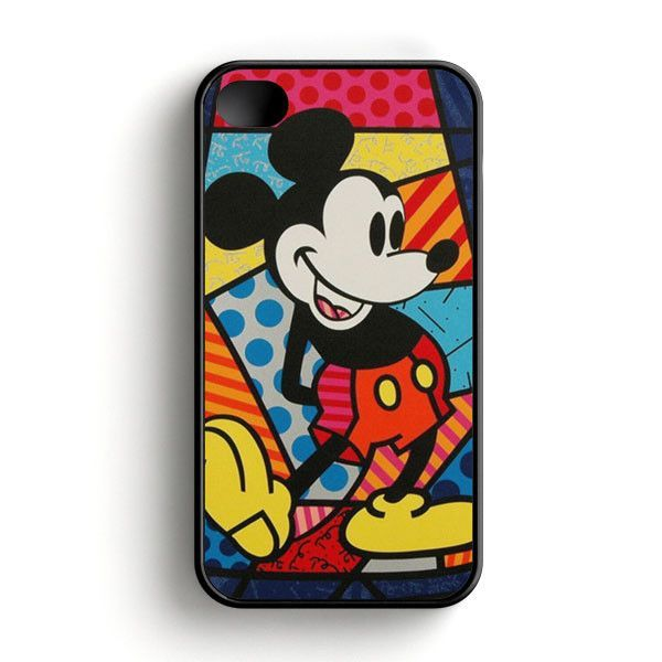 Mickey Mouse On Disney Castle Of Illusion iPhone 4 4S Case
