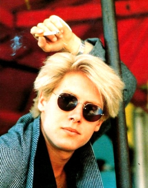 James Spader when he was young and hot. Now he is bald. Sad. Still a good actor though.