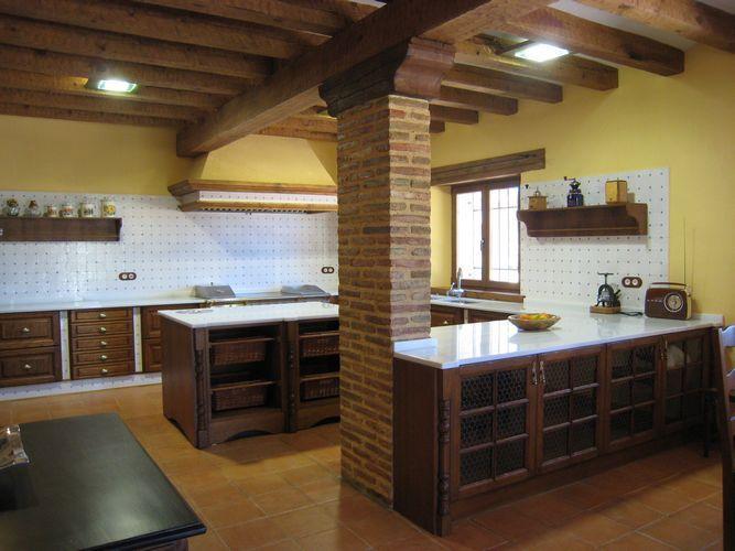Dise o de cocina dise o de cocinas en titulcia cocina - Diseno cocinas rusticas ...