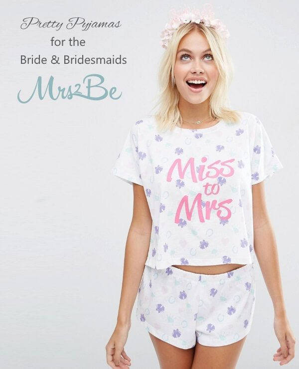 We're obsessing over pretty printed bridesmaid PJs and cute and colourful bridal robes at the moment - see some of the best we've found this week here...