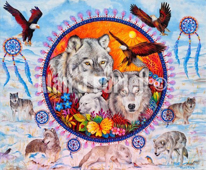#alanjporterart #kompas #art #animals #paintings #wild #eagle #wolfs #originals #oil #originaldesign #beautifulcolors